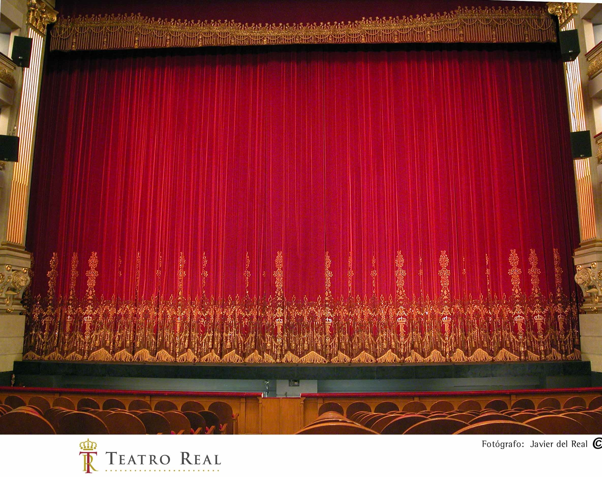 Teatro Real.Telón 01