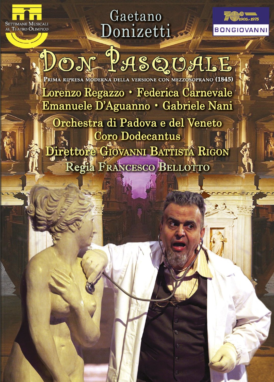 """Don Pasquale"". Lorenzo Regazzo"