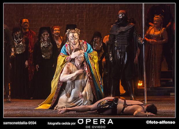 Crítica del Samson et Dalila de Oviedo: Samson vence, Dalila triunfa