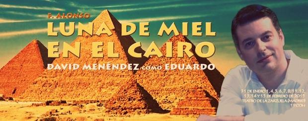 """David Menéndez cantará """"Luna de Miel en El cairo"""" en la Zarzuela"""