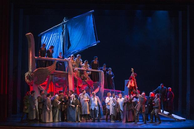 Suntuoso trípode vocal en el Otello de Verdi