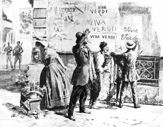 Viva Verdi! Apuntes de historia italiana