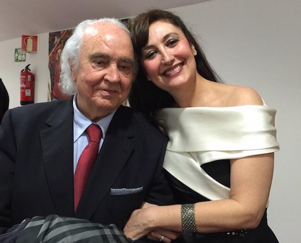 María José Montiel y Miquel Esterlich triunfan en el Palau de la Música de Valencia.
