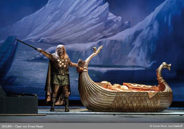 Sigurd, de Reyer, en el Theater Erfurt