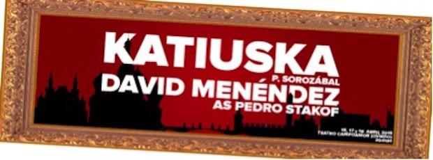 David Menéndez cantará Katiuska en Oviedo