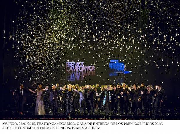 IX Premios Líricos Teatro Campoamor 2015