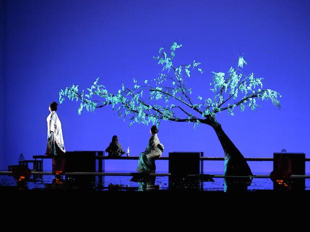 Escena de Madama Butterfly en Las Palmas