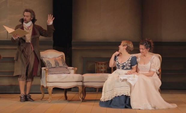 Escena de Clementina en el Teatro de la Zarzuela