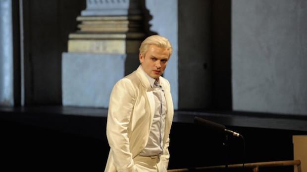 Escena de Die Entführung aus dem Serail en el Teatro Schiller de Berlín