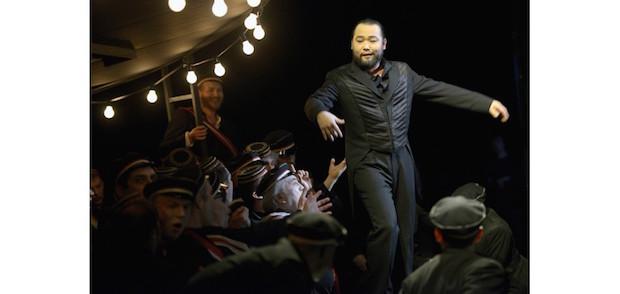 Escena de La Damnation de Faust en la Deutsche Oper de Berlín