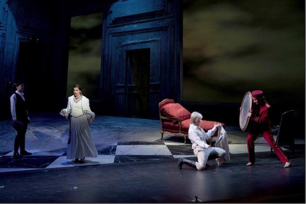 Escena de Narciso en Valencia