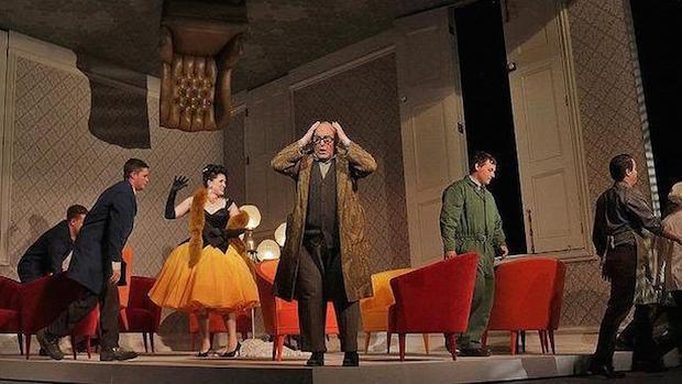 Escena de Don Pasquale