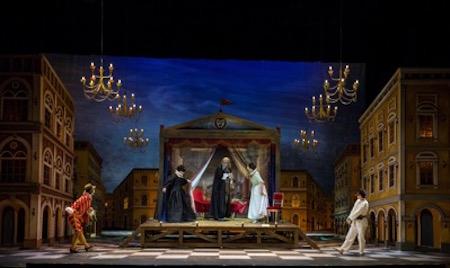 Escena del Don Pasquale de Buenos Aires Lírica