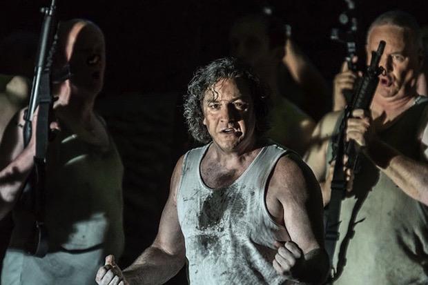 Escena de Guillermo Tell en el Covent Garden