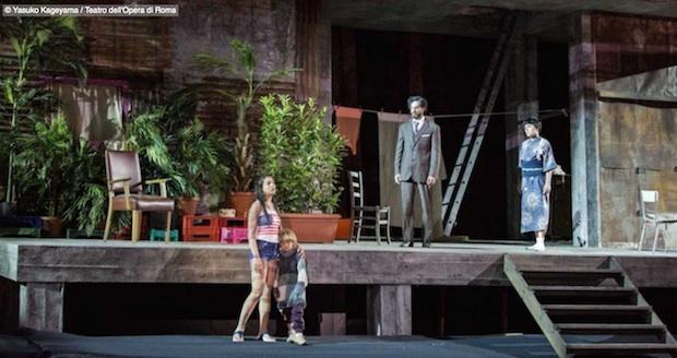 Segundo acto (puesta en escena de La Fura dels Baus)