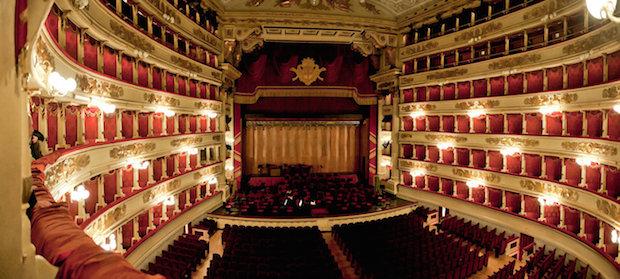 La Scala, Milán. Photo: Wulfman