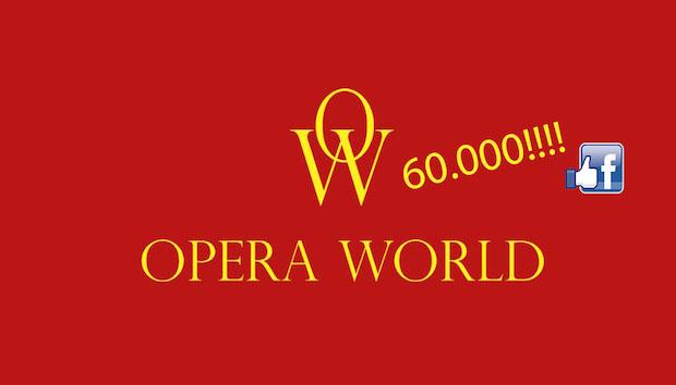 Opera World alcanza los 60.000 seguidores en Facebook