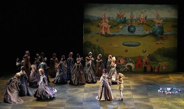 Escena de Don Carlo en El Escorial