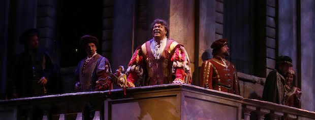 Rigoletto at the Vancouver Opera. Photo by Tim Matheson.