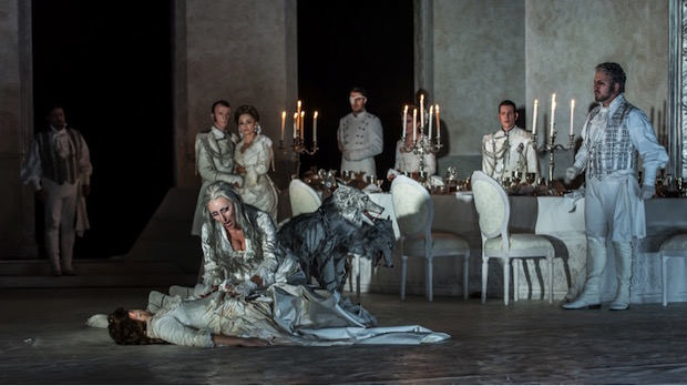 Escena de Guglielmo Ratcliff de Mascagni en Wexford