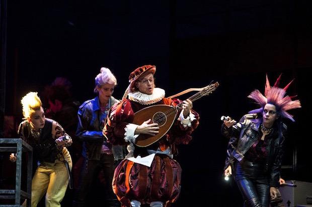 Markus Werba en una escena de Maestros cantores en Berlín.