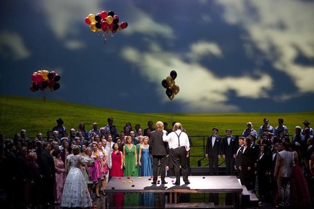 Maestros Cantores en Berlín: Magnífico espectáculo con carga emotiva añadida
