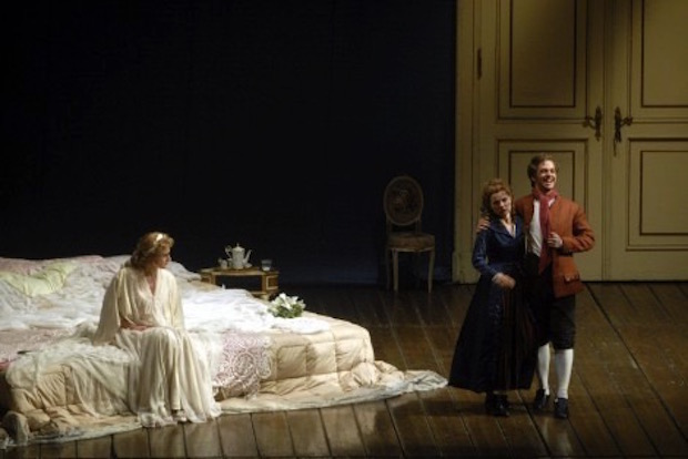 Escena de Le nozze di Figaro en Berlín