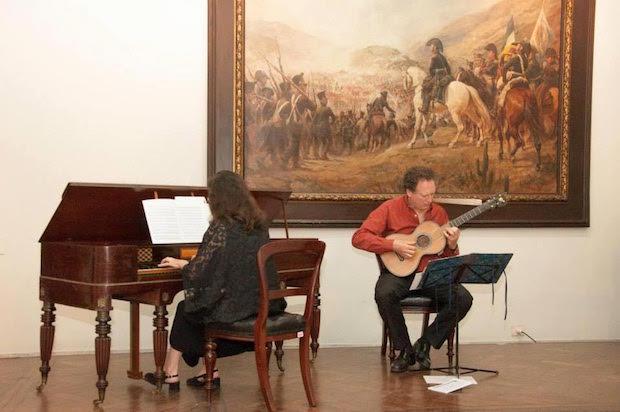 La música en la historia de la Patria Grande en Buenos Aires