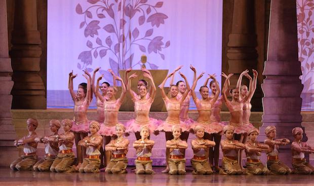 Le Corsaire, un grand ballet romantique français par le Ballet d´Etat de Bavière. Foto: C. Tandy
