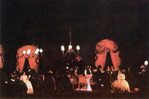 Acto I  foto: VI Festival de Spoleto, junio de 1963