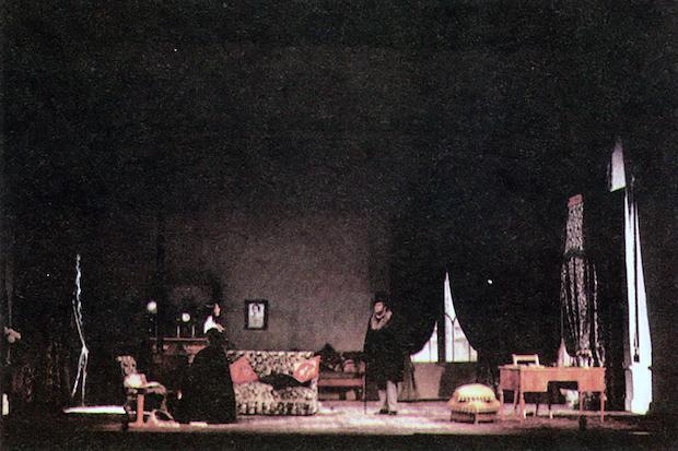 Acto II – Cuadro 1  foto: VI Festival de Spoleto, junio de 1963