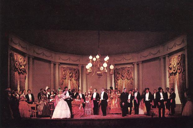 Acto II – Cuadro 2 foto: VI Festival de Spoleto, junio de 1963
