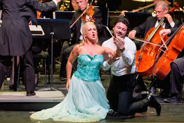 Concierto de Vittorio Grigòlo y Diana Damrau en Los Ángeles, California