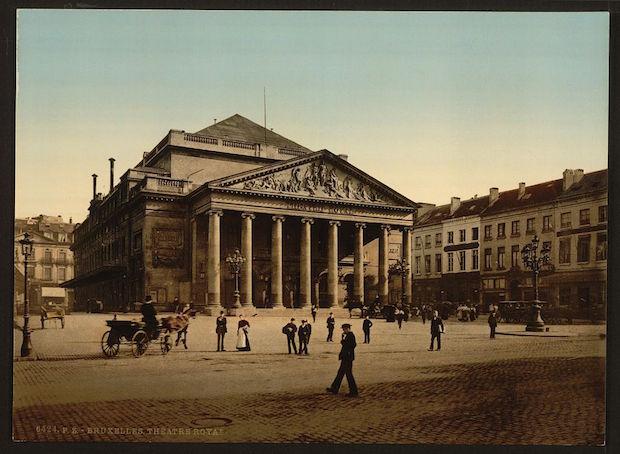 Place_de_la_Monnaie_(Muntplein),_Brussels,_Belgium_(ca._1890-1900)