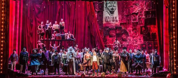 Black el payaso en el Teatro Colón de Bogotá