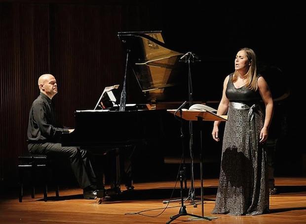 Extraordinario recital de la mezzosoprano Marta Infante y el pianista Jorge Robaina