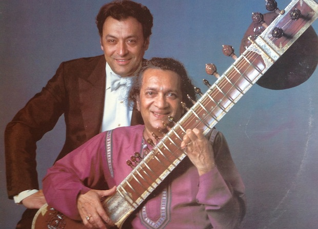 Zubin Mehta and Ravi Shankar, two of the most important indian musicians