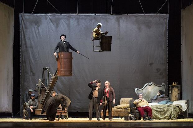 Un Falstaff al San Carlo per Luca Ronconi. ph.Luciano Romano