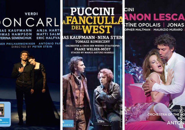 Don Carlo, La Fanciulla del West y Manon Lescaut con Jonas Kaufmann