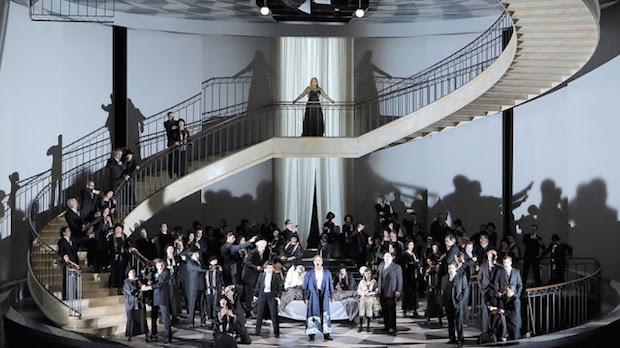 Un nouveau Ballo in maschera à l´opéra de Munich dans la mise en scène fascinante de Johannes Erath