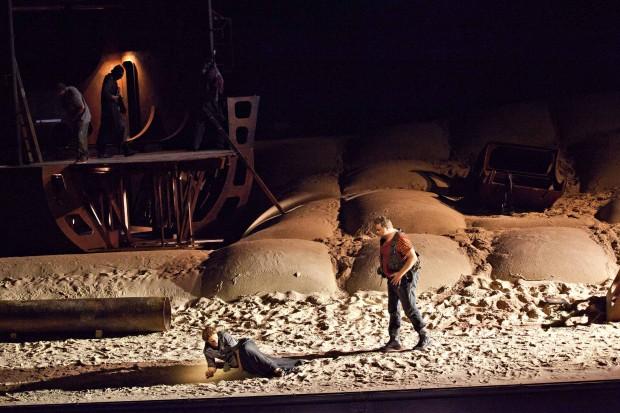 El holandés errante (fotógrafo: © Jean-Louis Fernández) Teatro Real
