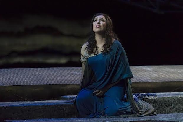 Reposición de Aida en el Palau de Les Arts