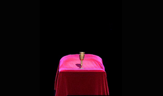 Tercer acto de Simon Boccanegra. Fragmento de una fotografía de A. Bofill