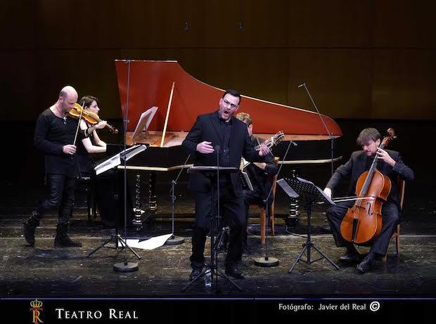 Insuficiente recital de Andreas Scholl en Madrid