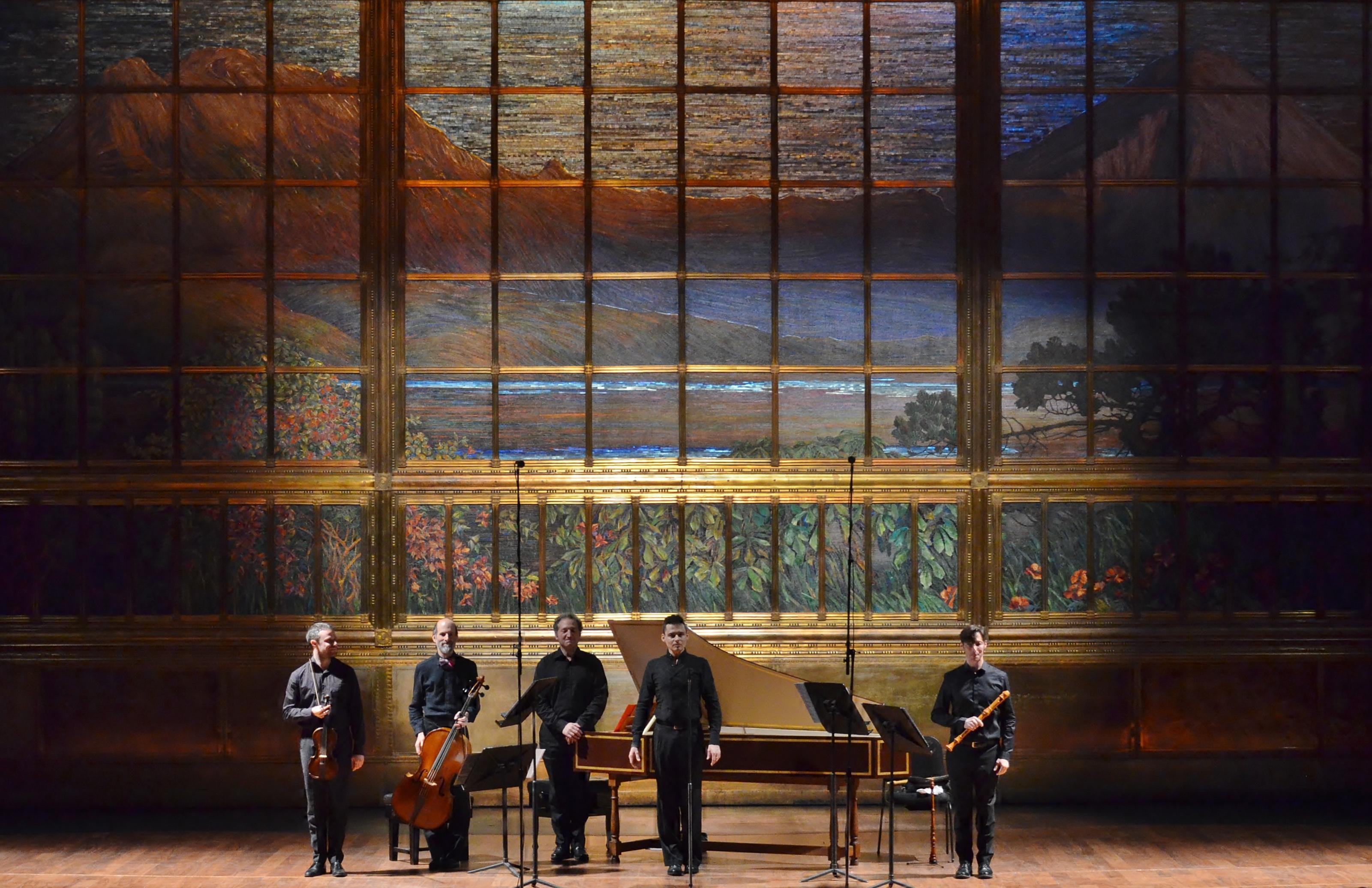 Concierto de Il Rossignolo en el Palacio de Bellas Artes de México