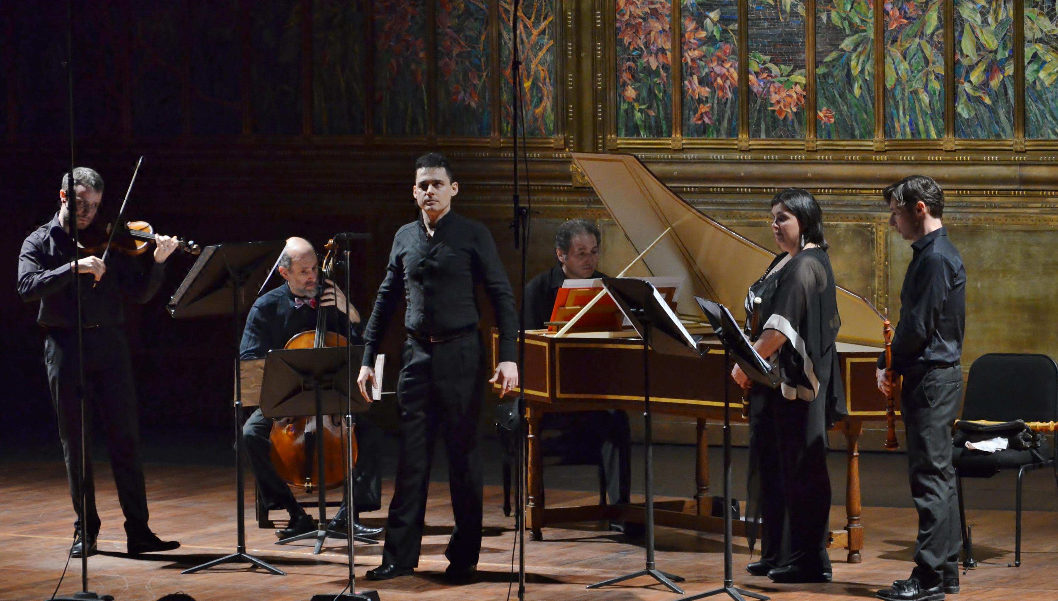 Concierto de Il Rossignolo en el Palacio de Bellas Artes de México. Foto: Edmundo López Palomino / Instituto Nacional de Bellas Artes, México