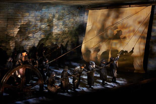 El holandés errante en la Ópera de Seattle, un éxito a medias. Foto: McCaw Hall
