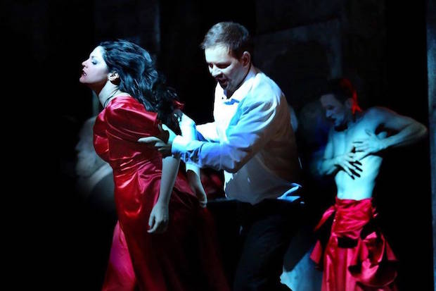 King Roger looking for identity at Krakow Opera directed by Znaniecki
