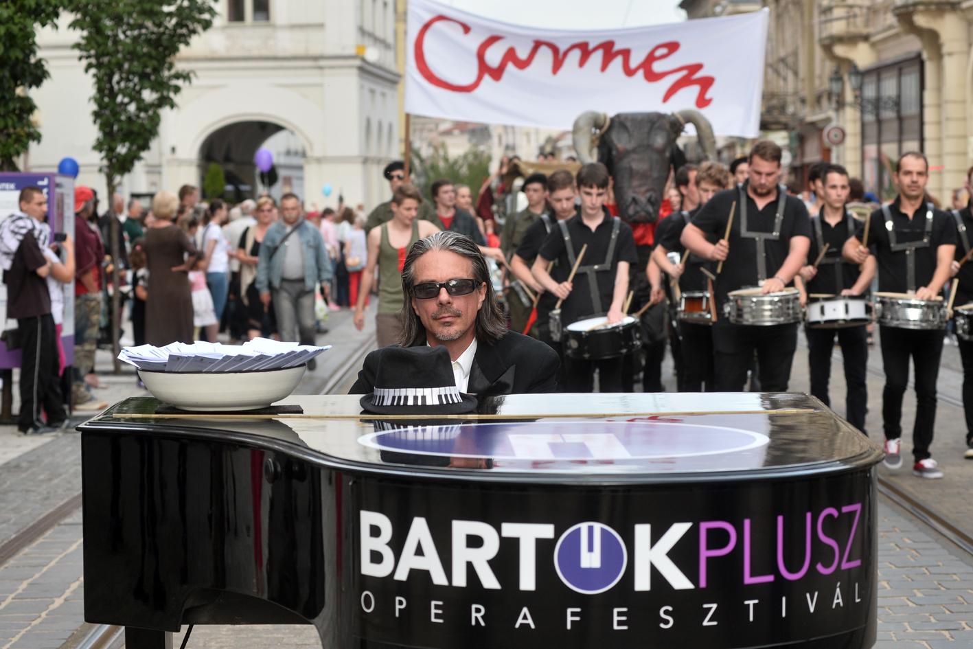 Bartok Plusz Opera Festival di Miskolc in Ungheria