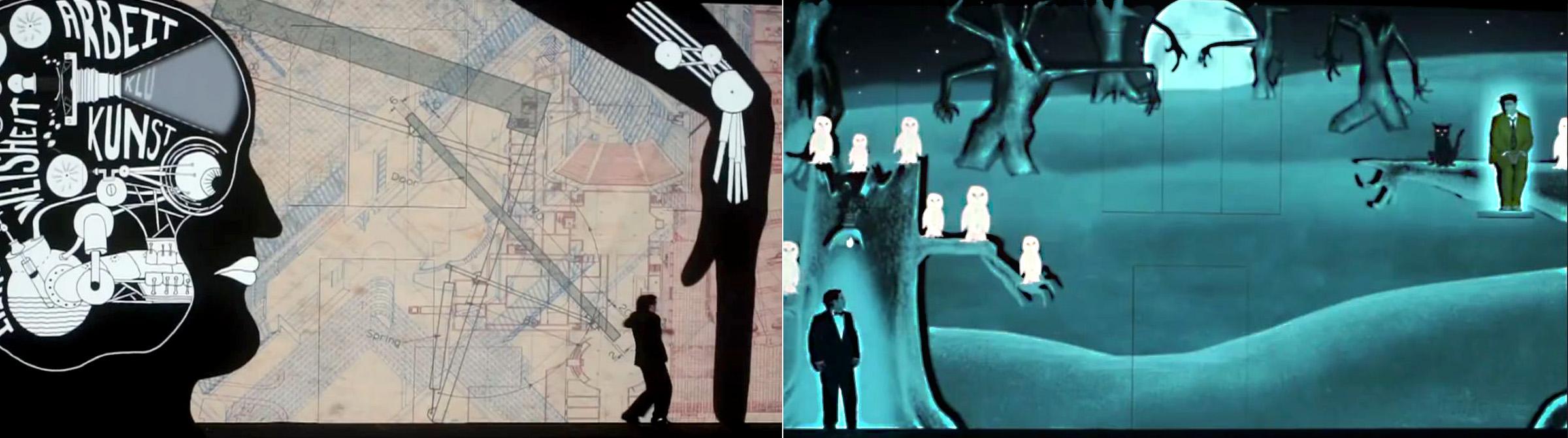 Fotogramas del vídeo promocional.
